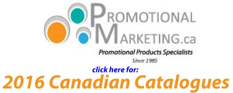 PromoMarketing 2016 Canadian catalogues